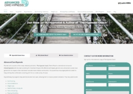 Advanced Care Hypnosis Website Design